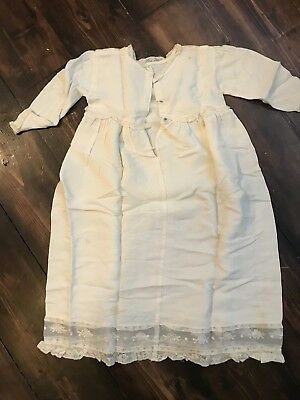 Vintage Antique Baby Christening Gown