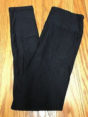 LuLaRoe NWT One Size OS Leggings Solid Black
