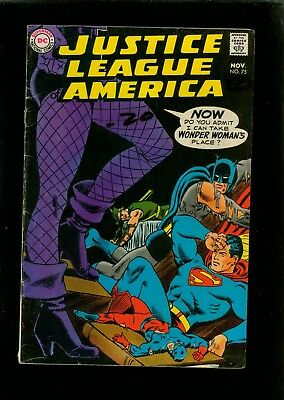 Justice League of America 75 VG 4.0