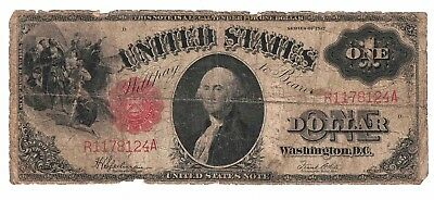 United States Note One Dollar Series of 1917 Fr 39