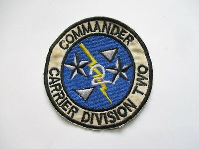 Patch_ US Navy COMMANDER CARRIER DIVISION TWO CARDIV 2 - Vietnam War Patch