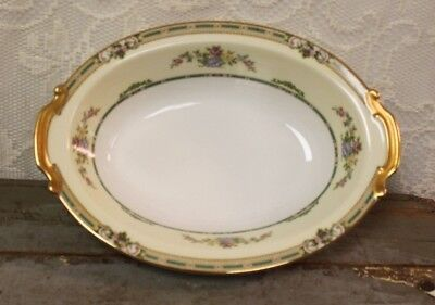 "Antique C. 1931 Noritake China ALICIA #35762  10"" Oval Vegetable Bowl"