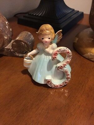 "Vintage Josef Originals ""3rd Birthday Girl Angel"" Figurine Excellent Condition"