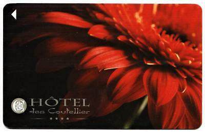 HOTEL JES COUTELLIER**QUEBEC CANADA  key card Fast Ship #126