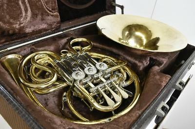 ALEXANDER 103GB FRENCH HORN W/ Hard Case Used No Lacquer