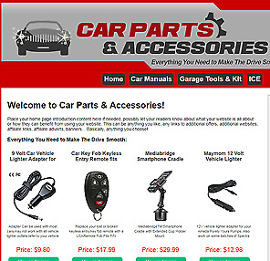 Car Parts Online Business