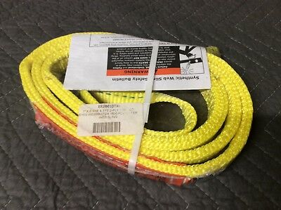 """Lift all synthetic sling EE2801DTX6 1""""X6' eye to eye 2ply twisted"""