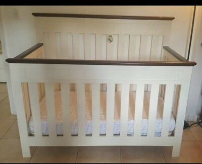 white 3 in 1 convertible crib from baby re us
