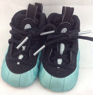 61f816f8044 ... where can i buy infant nike lil posite pro baby foamposite island green 643145  303 size