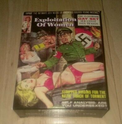 EXPLOITATION OF WOMEN box Complete set trading cards MENS magazine covers 1960s