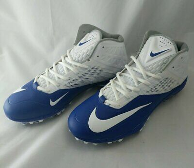 separation shoes 6479b 73371 Nike Football Cleat Zoom Arch Beam Propulsion Size 13 Blue And White Nwob
