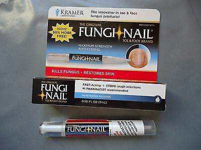 Fungi Nail MAXIMUM STRENGTH Anti-Fungal Treatment Pen Finger/Toe Nails Cure