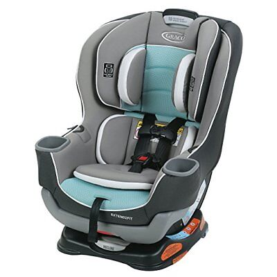 Graco Extend2Fit Convertible Car Seat - Spire - One Size