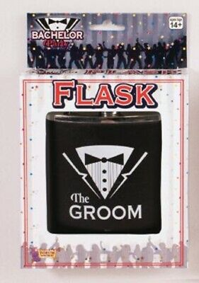 Bachelor Groom Party Flask