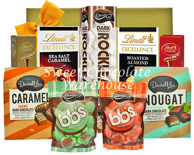 Darrell Lea and Lindt Big Chocolate Hamper 1300g