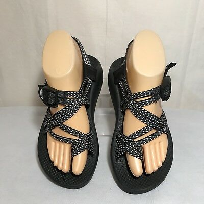 6a10f0587db9 Chaco WOMENS ZX 2 CLASSIC WIDE WIDTH size 7 Boost Black Hiking Sandals