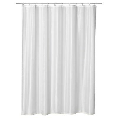 SALTGRUND Shower Curtains, White Color, 180x180 cm, polyester-IKEA-Brand New