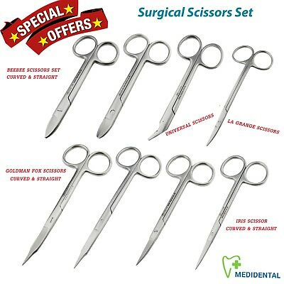 Surgical Scissor Set spencer suture ,Mayo ,Iris ,Kelly,Noyes,Metzenbaum Scissors