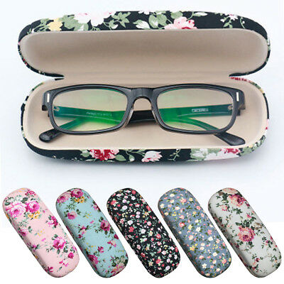 4574fc24924 Hard Glasses Cases Spectacle Floral Sunglasses Storage Hard Case Glasses  Cases