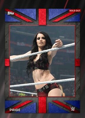 Topps WWE Slam Digital Card Paige Boxing Day 2016