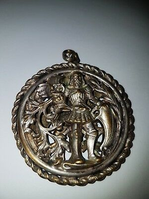 Metal Detecting Find Old Knight Pendants