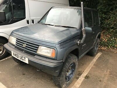 Suzuki Vitara 1.6 JLX Off Roader Project Spares & Repairs Not Discovery Defender