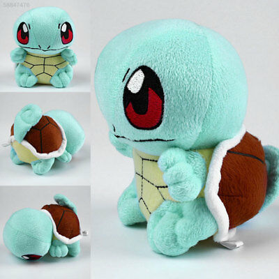 50F6 Cute Cartoon Pokemon Squirtle Plush Doll Lovely Soft Stuffed Child Toy 13cm