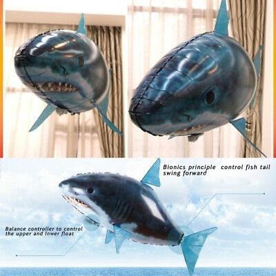 Inflatable Toy Remote Control Airplane Toys Animal Balloon Flying Fish