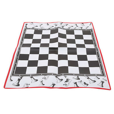 Portable Non-woven Fabric Folding Chess Board Mat Game Family High Quality BS