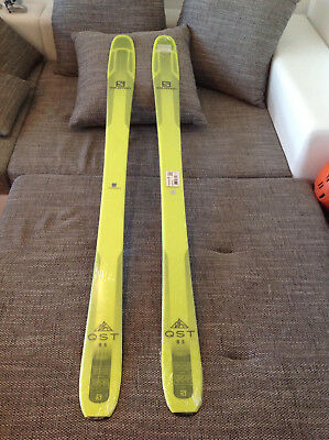Salomon Exklusiv All-Mountain Ski QST 85 Gelb 169cm Neu! A361