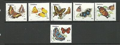 1992 Butterflies set of 6 MUH/MNH As Issued Value Here