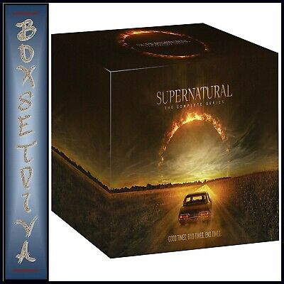 Supernatural Seasons 1 2 3 4 5 6 7 8 9 10 11 12 & 13 ** Brand New Dvd Boxset***