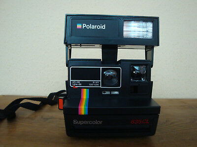 Polaroid Supercolor 635 CL Sofortbildkamera