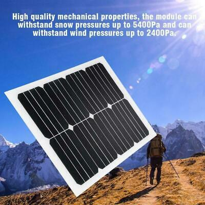 5W/10W/15W/20W USB Solar Panel Mono Portable Mobile Power Charger Kit Waterproof