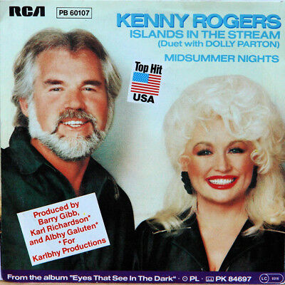 Kenny Rogers Duet With Dolly Parton - Islands in the Stream PB 60107
