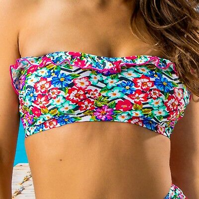 Pour Moi Wonderland Strapless Underwired Top - Multi - 35010
