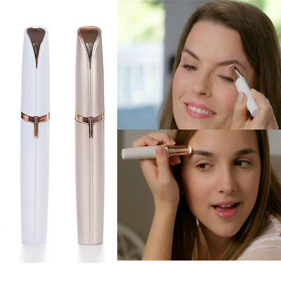 Electric Eyebrow Repair Pen Finishing Touch Flawless Pop Hair Face Remover LED