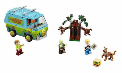 305PCS Scooby Doo Mystery Machine Bus Building Block Building Toys #10430