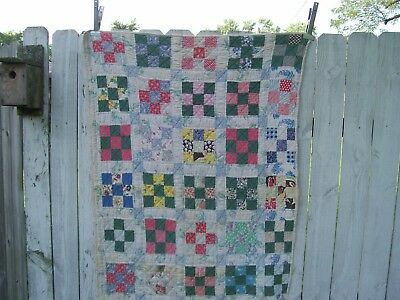 Hand Made Quilted Crib Quilt