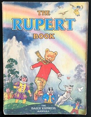 RUPERT ORIGINAL ANNUAL 1948 Inscribed Not Price Clipped VG