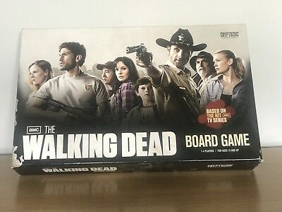 The Walking Dead Board Game 100% Complete.