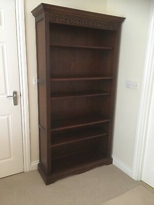 Old Charm Oak Bookcase
