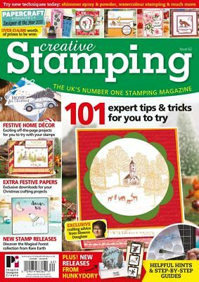 Creative Stamping Magazine Issue 62 with Winter Woodland Stamp Collection