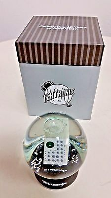 NEW Tektronix 511 Oscilloscope (Vollium) SnowGlobe 65 Anniversary With Retro Box