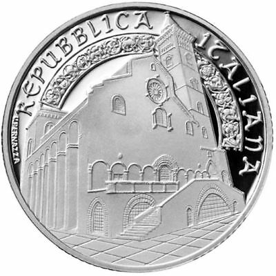 2018 Italy € 10 Euro Silver Proof Coin Santa Maria Assunta Cathedral in Trani