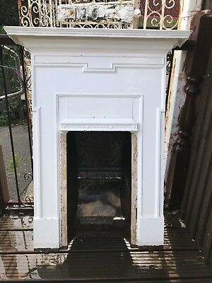 Cast iron fireplace surround 1930s Reclaimed