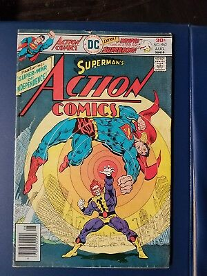 Superman Action Comics Dc #462 August 1976. ^^ First Appearance Of Krypto The...
