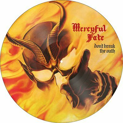 MERCYFUL FATE Don't Break The Oath RI PICTURE DISC LP