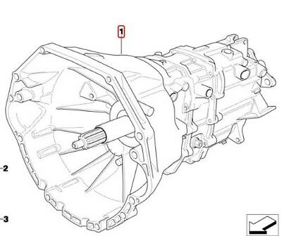 V Getrag 250G Manual 5 Spd Transmission Bmw  23007505600 E36 318I M42 4 Cyl 1.8L