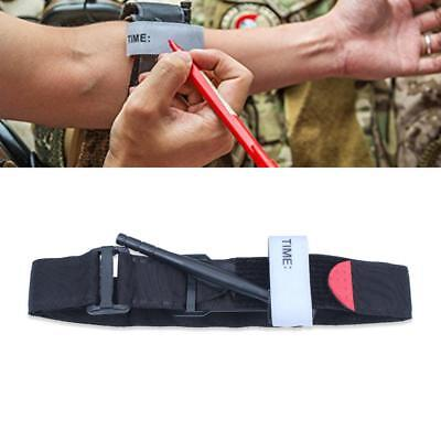 Tourniquet Rapid One Hand Application Medical Emergency Outdoor First Aid Belt